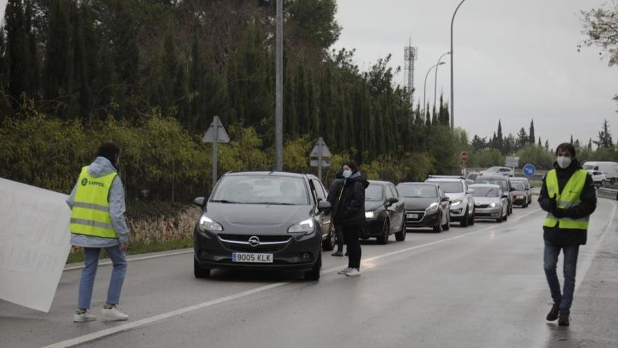 Studenten auf Mallorca streiken wegen Haft von Rapper Hasél
