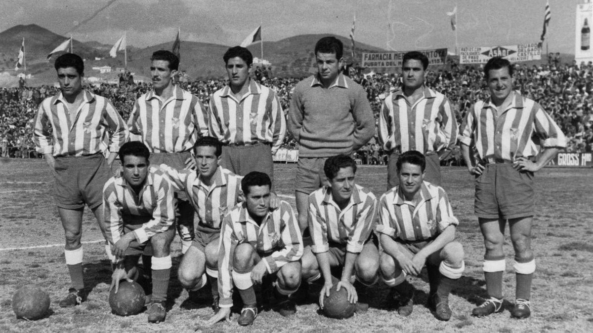 La primera gran gesta del Málaga CF.