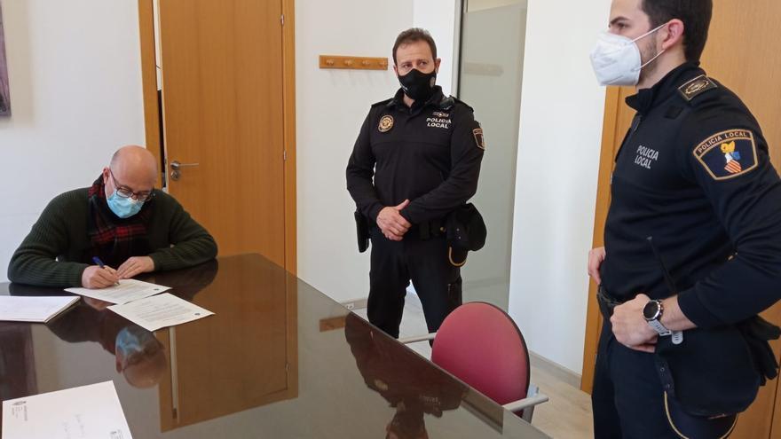 La Policía Local de Monóvar se refuerza con un nuevo agente