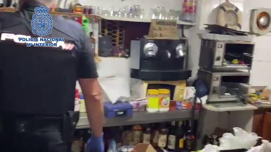 Vende droga en el bar que regentaba en Lomo Blanco