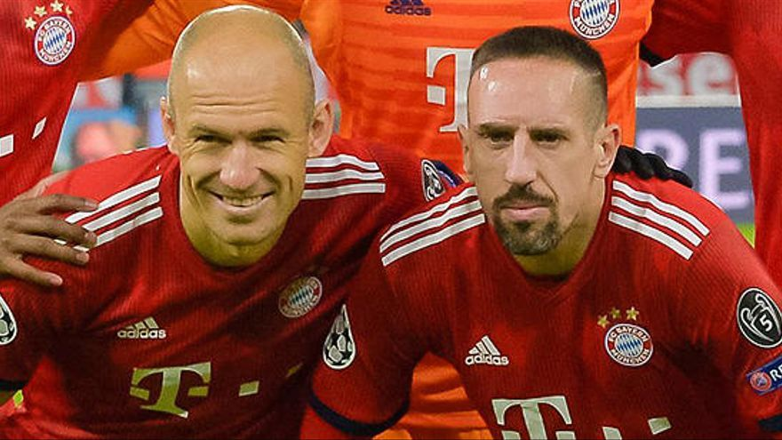 Robben abandonará el Bayern al final de la temporada