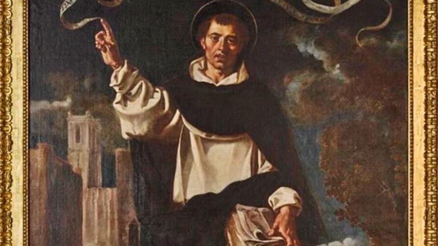 Torrent recupera un oli del segle XVII, obra de Jacinto de Espinosa