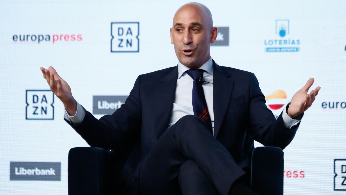 The president of the RFEF, Luis Rubiales.