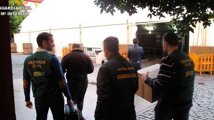 La Guardia Civil deja libres a 22 de los 32 detenidos en la Operación Enredadera