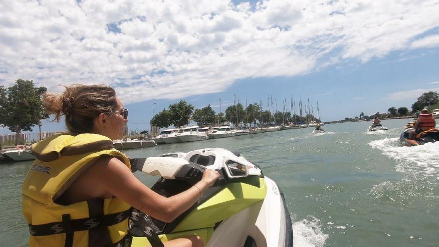 Plan de verano: ruta en moto de agua por Cullera