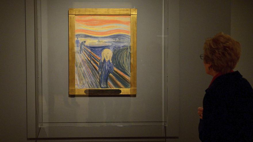 Munch dejó escrita una enigmática frase en 'El Grito'