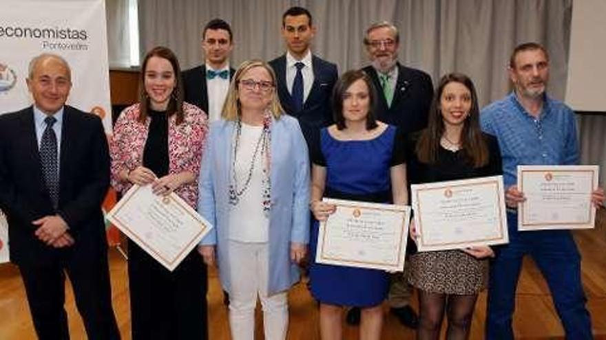 Irene Garrido aborda las perspectivas de la economía española en el premio Isaac Díaz Pardo de la Universidad