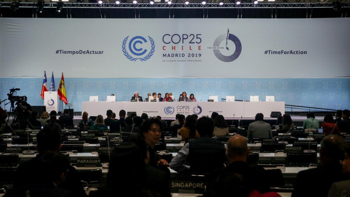 Un momento de la COP25