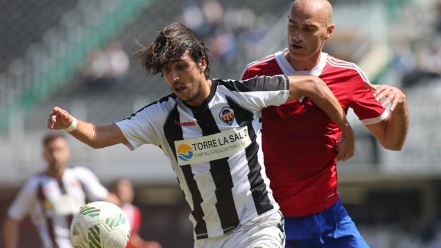 El CD Castellón golea al CF Borriol en un derbi trepidante (5-1)