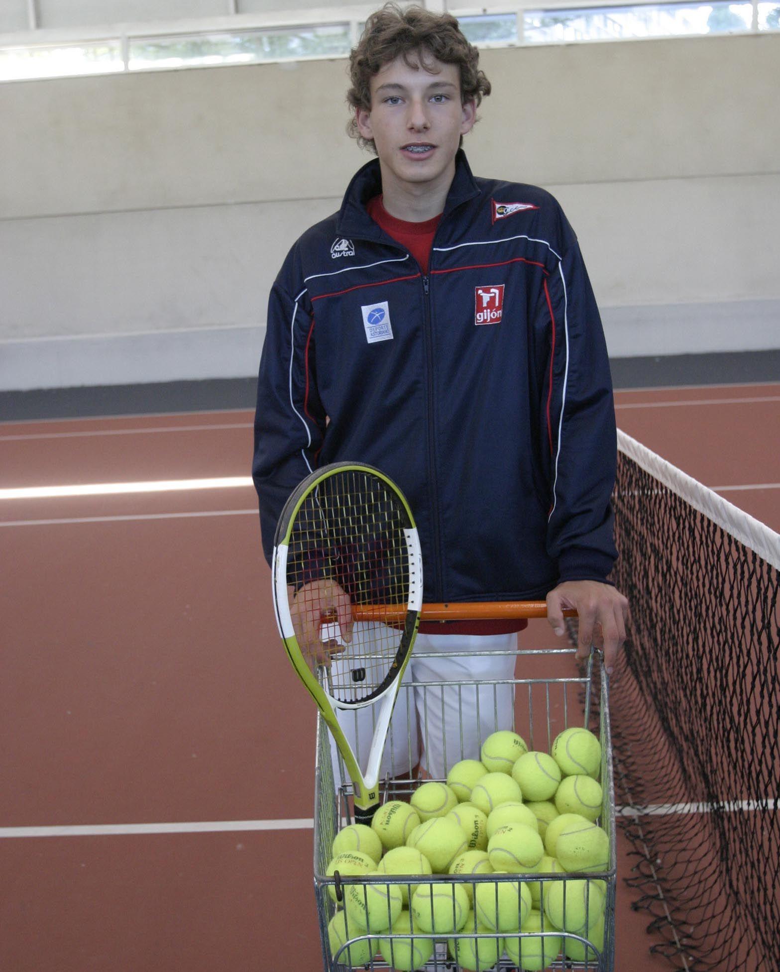 Pablo Carreño, raqueta en mano desde niño: todas las fotografías de su trayectoria