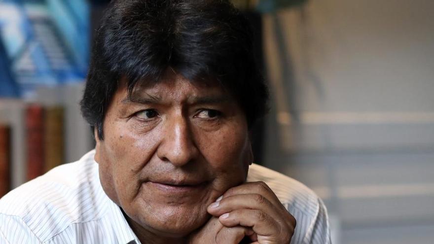 Evo Morales deja Argentina y pone rumbo a Venezuela