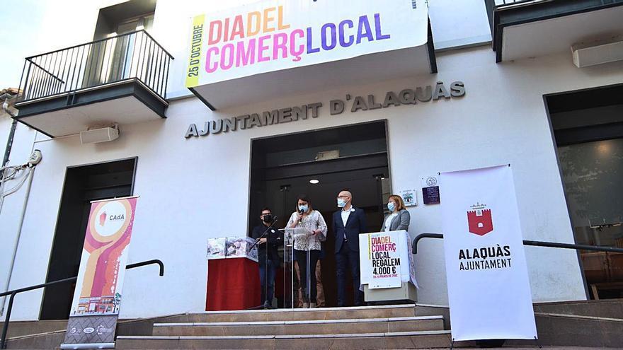 Alaquàs sortea 4.000 euros en 20 premios entre la clientela