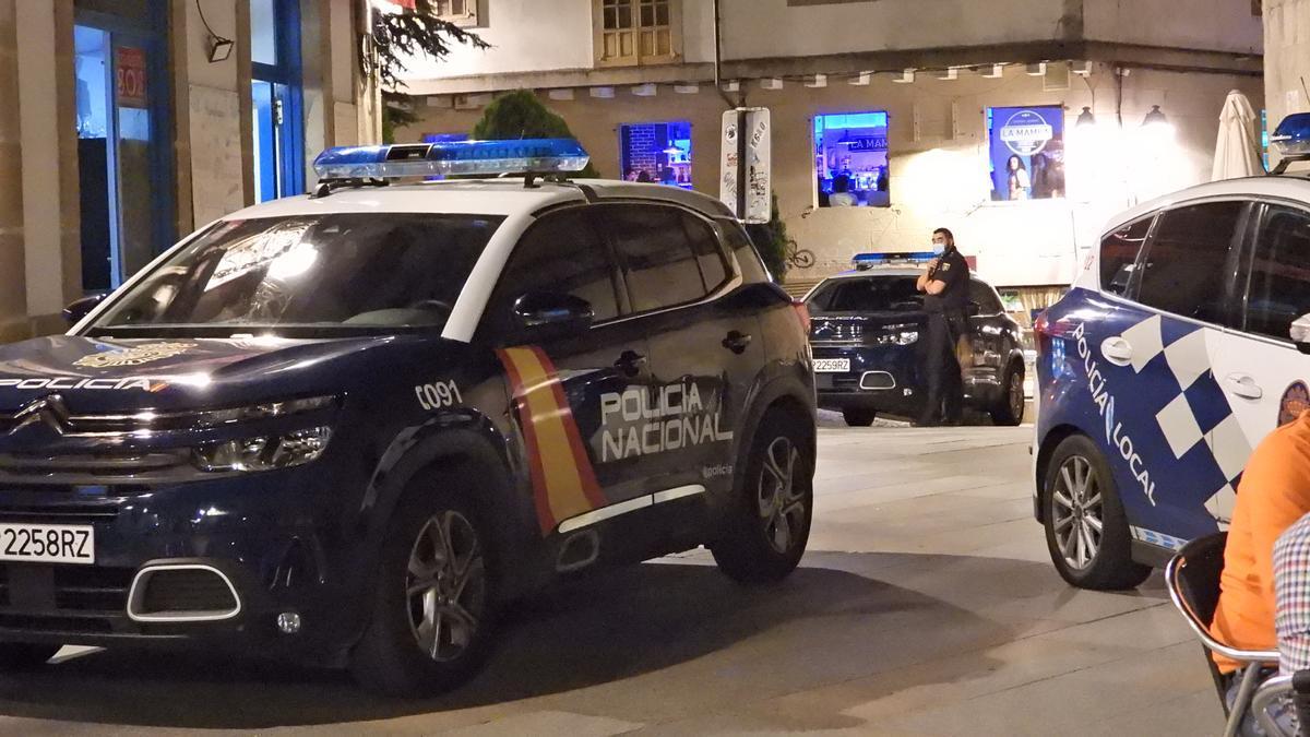 Controles policiales en el ocio nocturno.