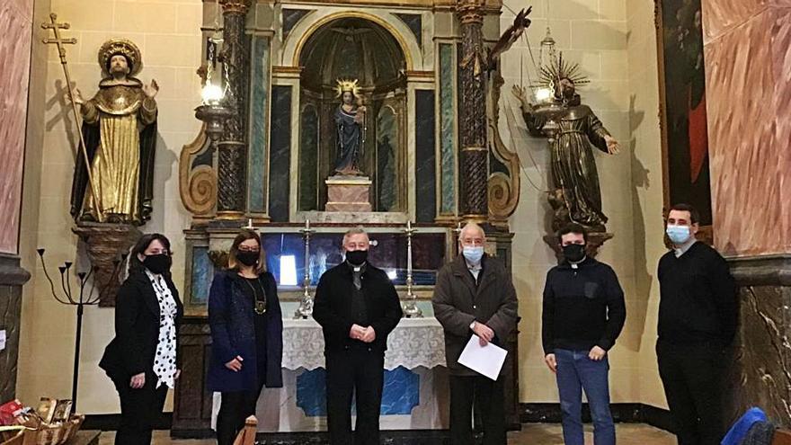 Consell y Obispado restauran diversas obras en iglesias de Mancor y Campanet