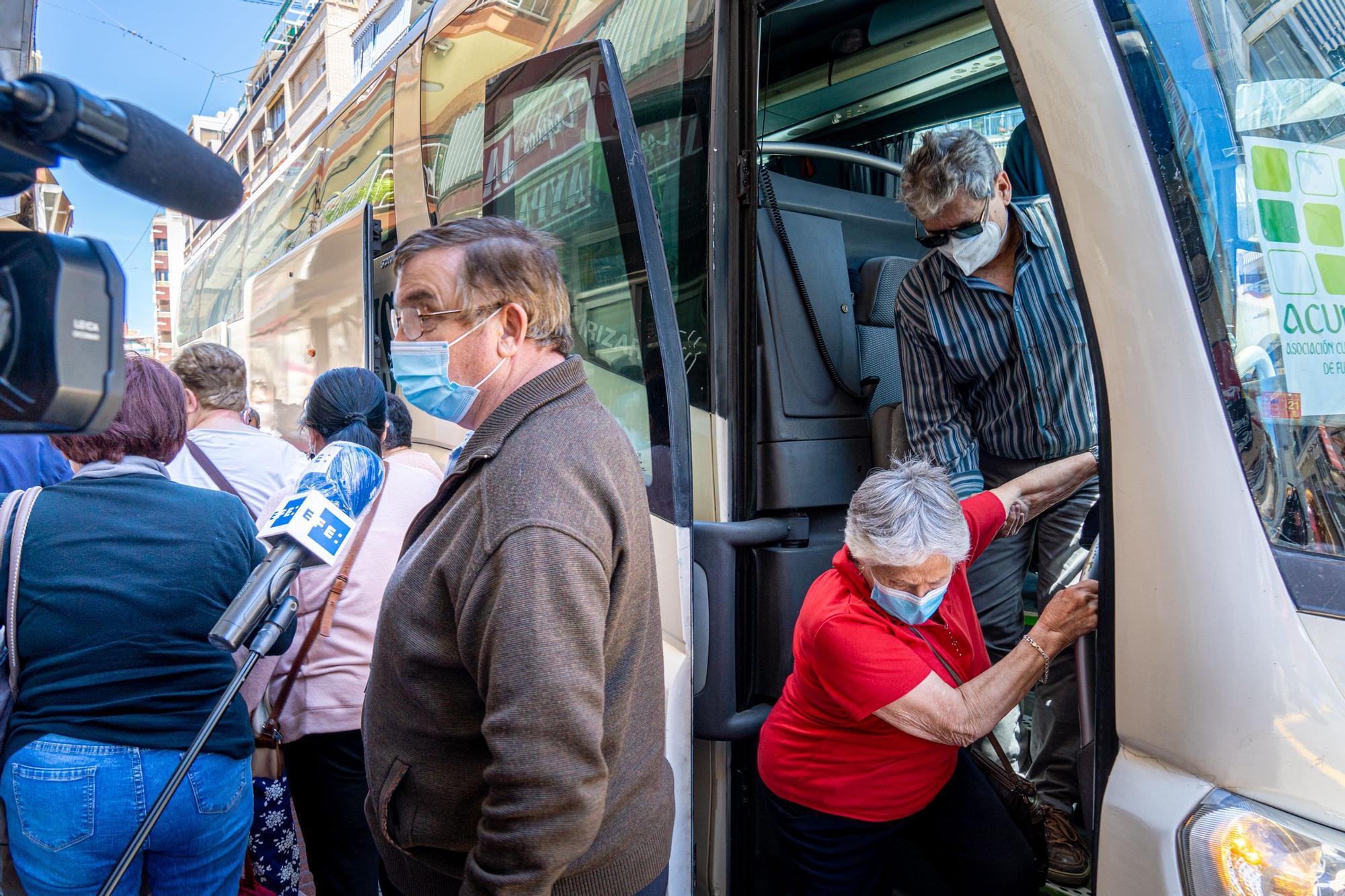 Los jubilados vuelven a Benidorm