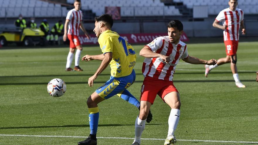 La UD Las Palmas pierde ante una UD Almería que aspira al ascenso