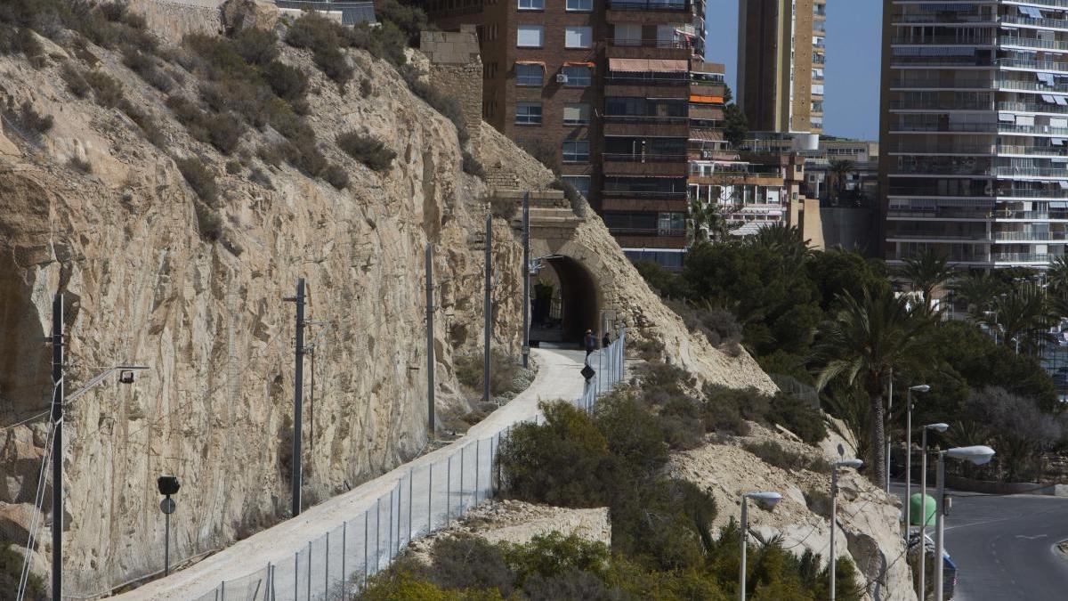 Obras Públicas adjudica la redacción del proyecto de la vía verde entre el Postiguet y la Albufereta