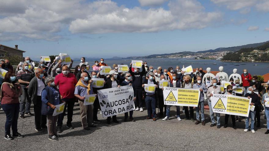 Los vecinos de Chapela y Cedeira organizan una concentración contra Aucosa