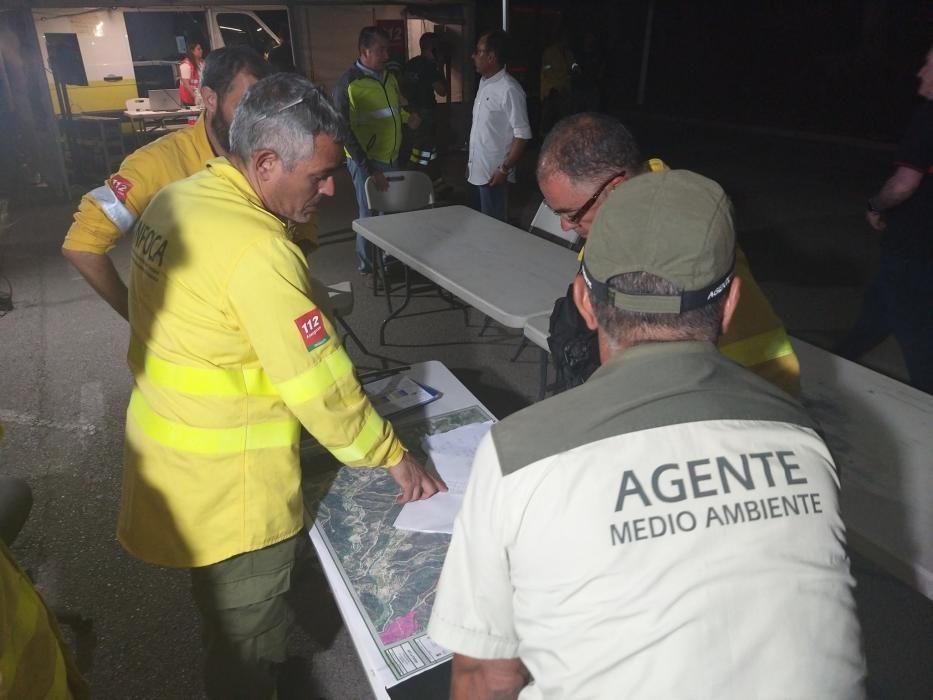 Las imágenes del incendio en Estepona