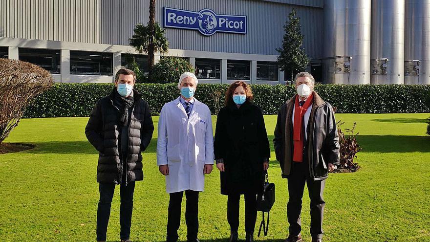 Industrias Lácteas Asturianas invirtió once millones en mejoras en su planta de Navia