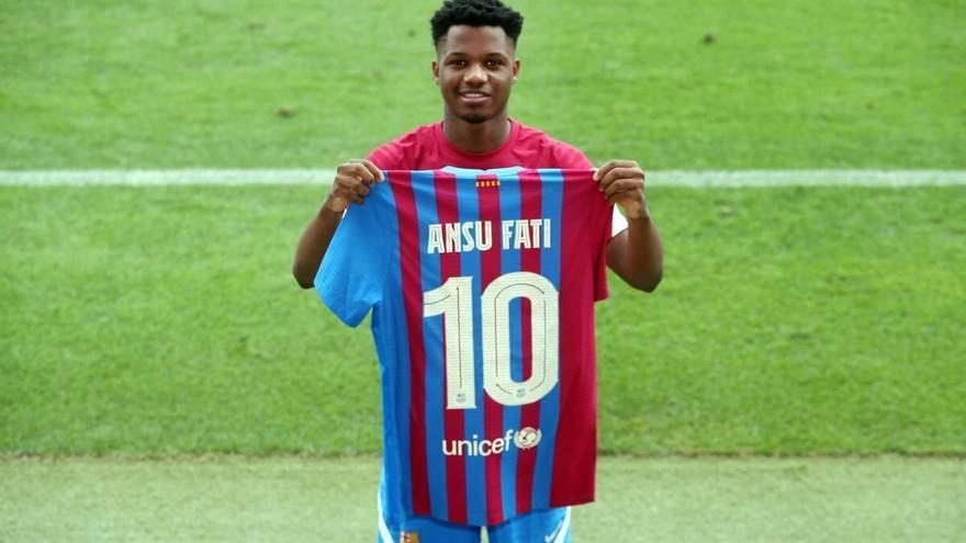 Ansu Fati, gran novedad en la convocatoria del Barça para recibir al Levante