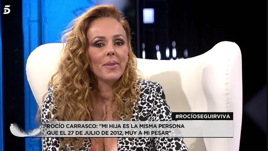 """Rocío Carrasco sobre las declaraciones de su hija: """"Es la misma que me agredió"""""""