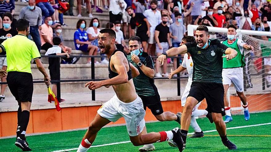 Gálvez lleva al Mallorca B a la final del play-off tras vencer al Platges de Calvià