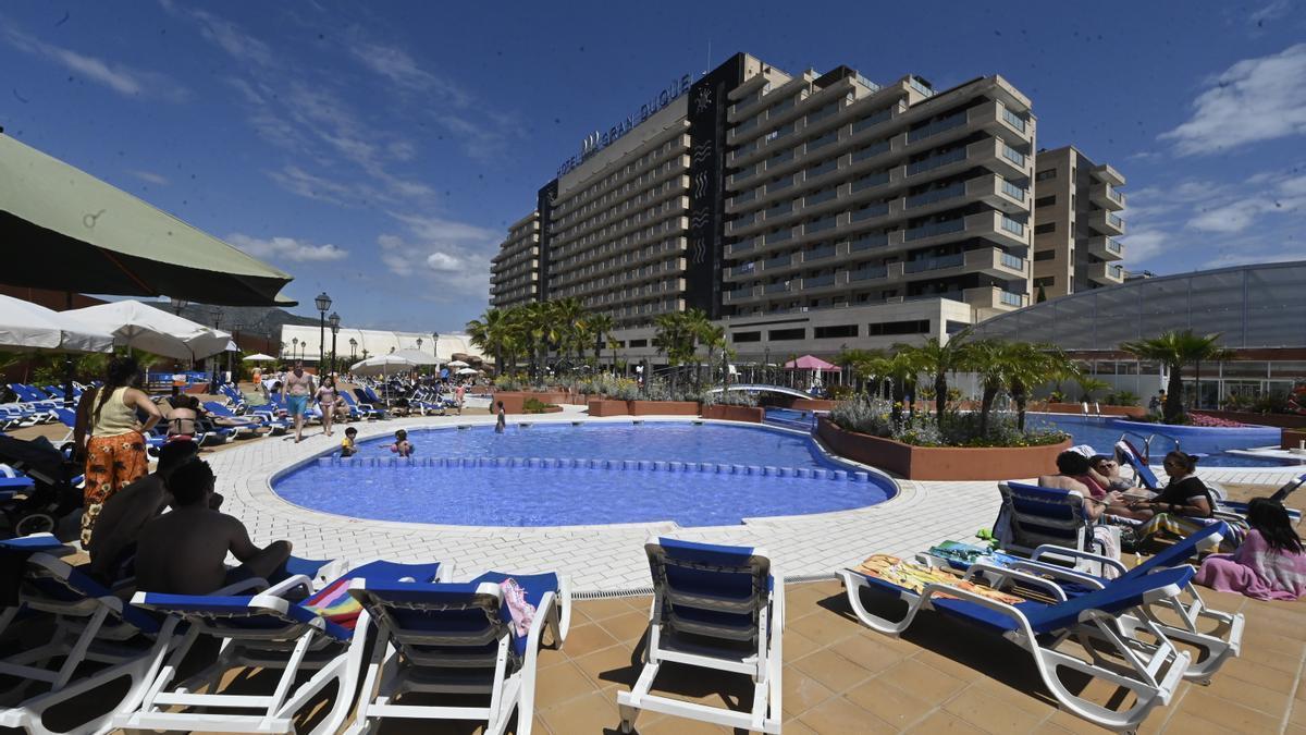 Imagen de un complejo hotelero de Castellón