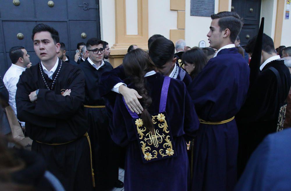 Expiración suspende su salida procesional.