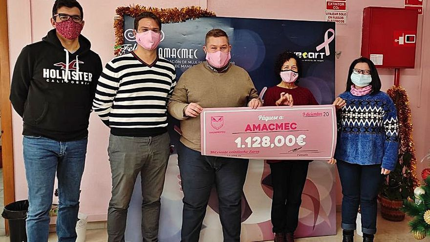 Donativo para Amacmec