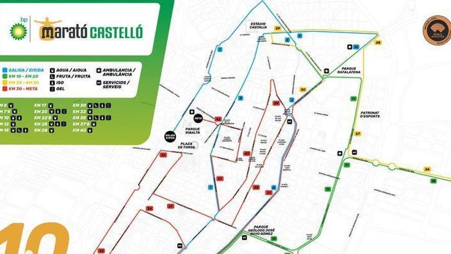 El Marató BP Castelló repite el trazado del récord en su 10º aniversario