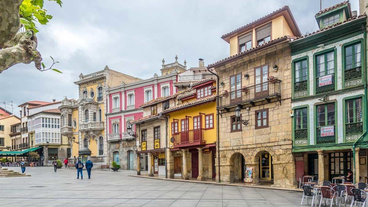 Una imagen de la villa de Avilés.