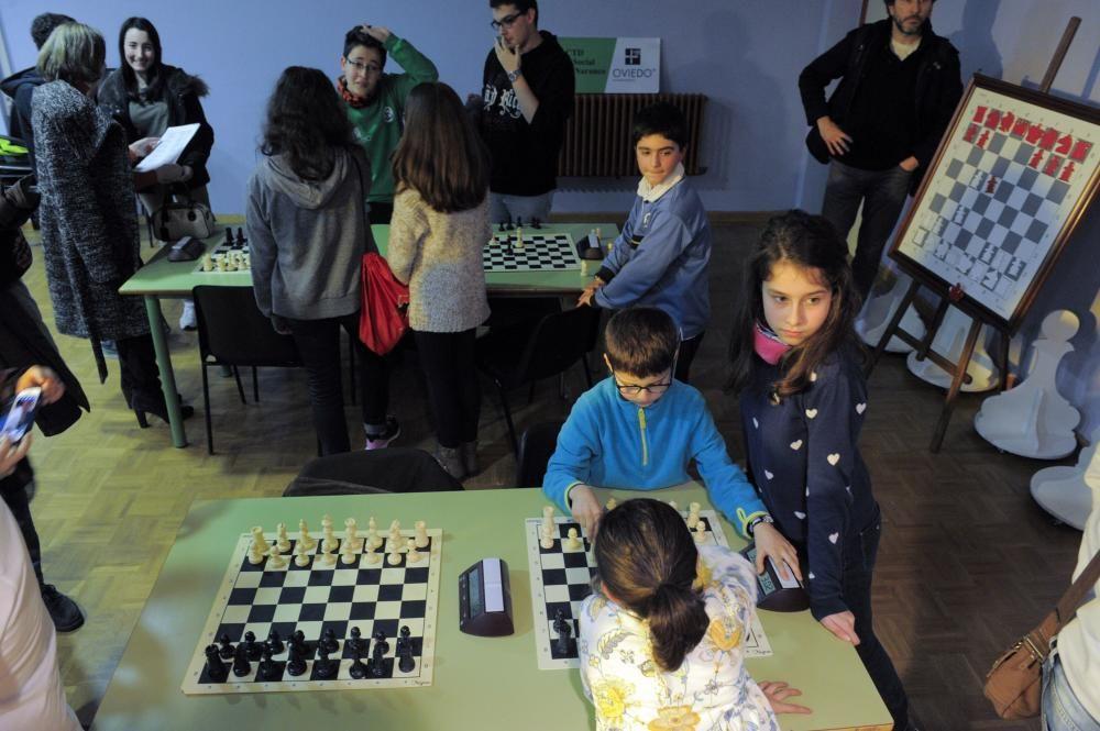 Jornadas de ajedrez en el colegio Germán Ramos