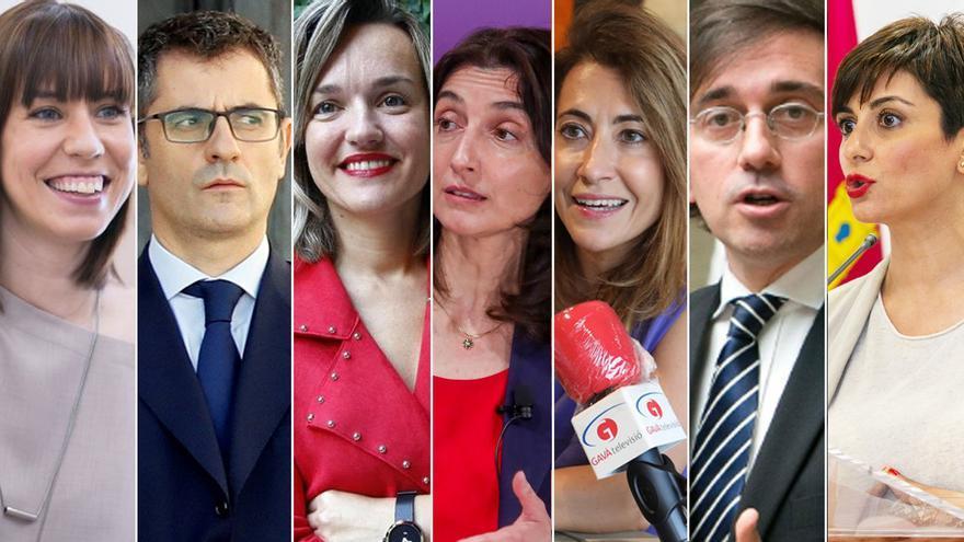 Estos son los ministros del nuevo Gobierno de Pedro Sánchez