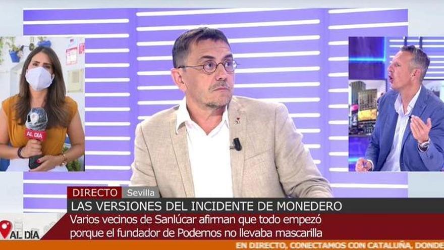 """Joaquín Prat, a Monedero: """"No te voy a permitir que nos des lecciones de periodismo"""""""
