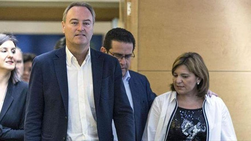 Bonig da por hecho que Alberto Fabra será el senador territorial del PP