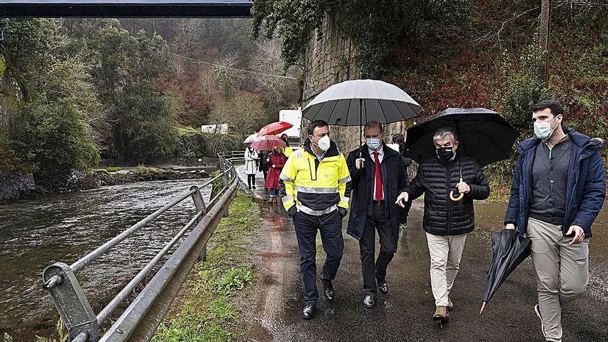 Una senda peatonal unirá Ponte do Porco con el puente del Lambre