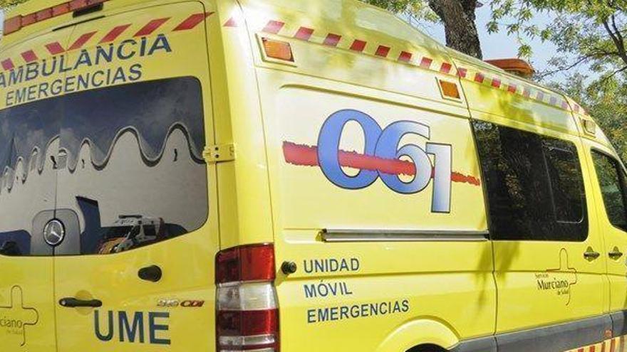 Un herido grave en un accidente en la AP-7 en Cartagena