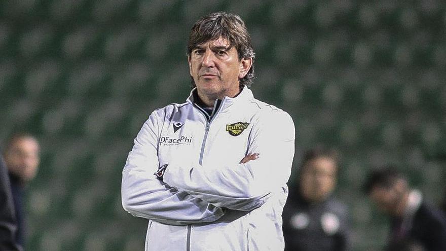 Lledó vuelve interinamente al banquillo del Intercity tras el despido de Martínez