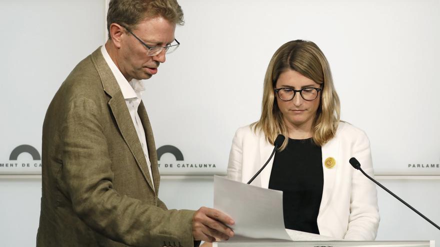 ERC pide un gesto de responsabilidad a Junts tras el veto a Aragonès