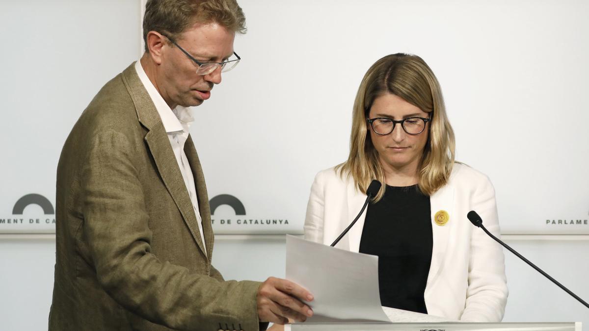 La vicepresidenta de Junts Elsa Artadi.