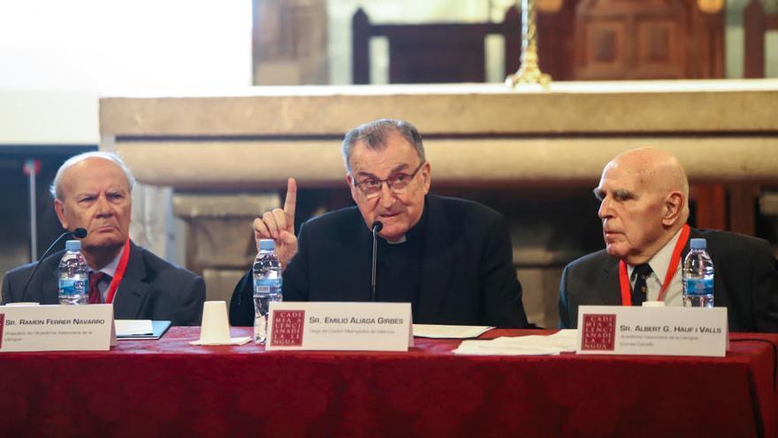 Inauguració del congrés Vicent Ferrer: Projecció europea d'un sant valencià