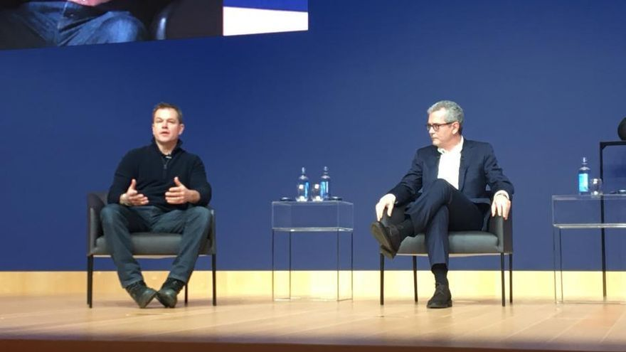 Matt Damon visita hoy Inditex