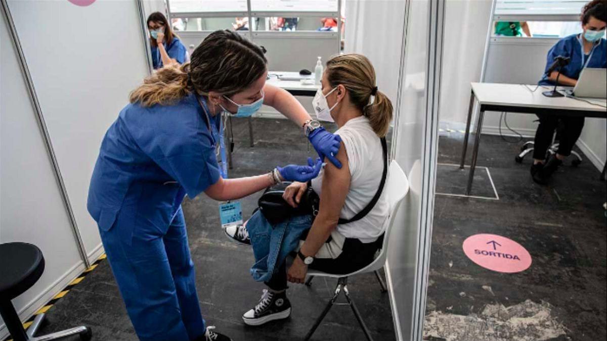 Una jornada de vacunación.