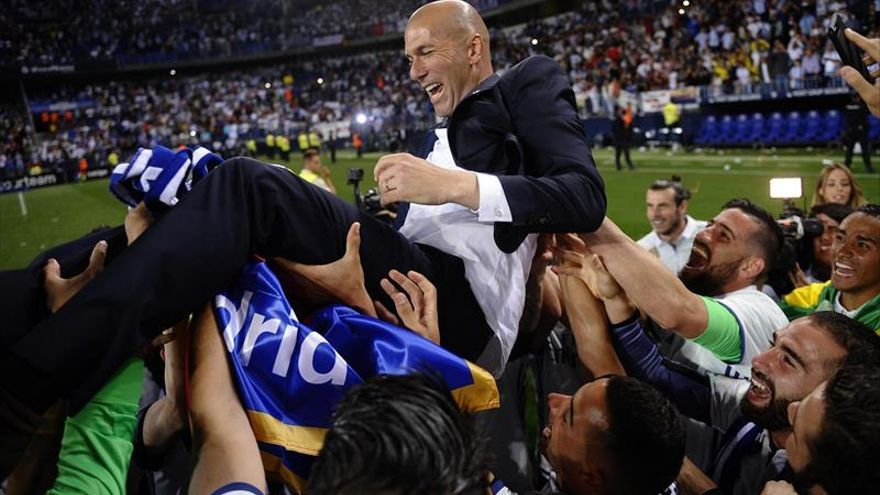 Zidane: «El mérito es de todos, ha sido una Liga trabajada»