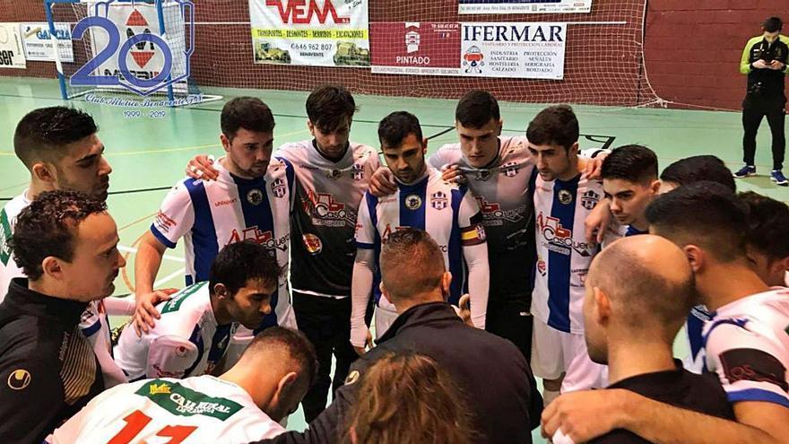 El Atlético Benavente: un proyecto humilde pero digno