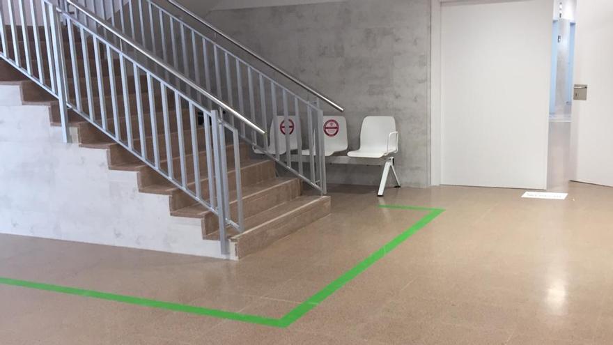 Nuevos circuitos de acceso por colores ante el aumento de pacientes en los centros de salud del Vinalopó