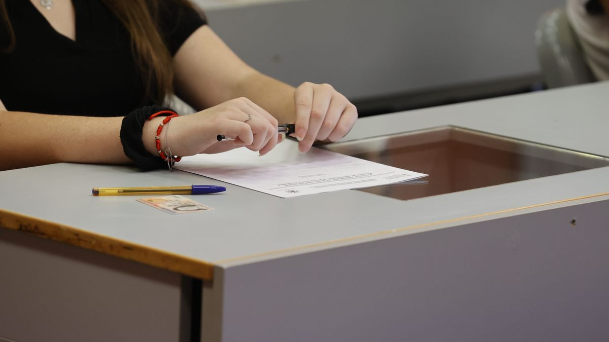 Selectividad 2021 en la Universitat de València.