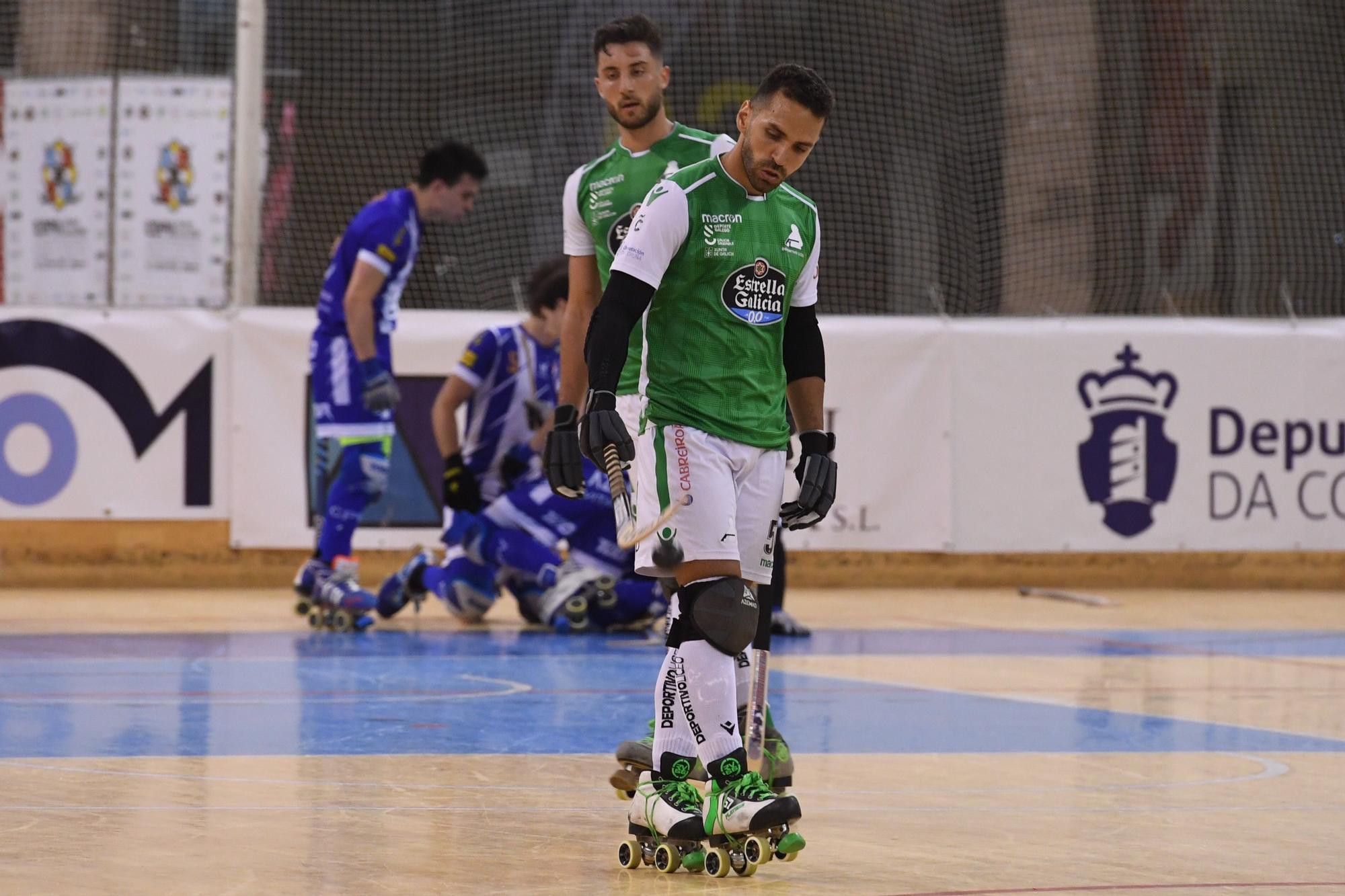 El Liceo debuta en la Copa del Rey de A Coruña con victoria (3-2) frente al Voltregá