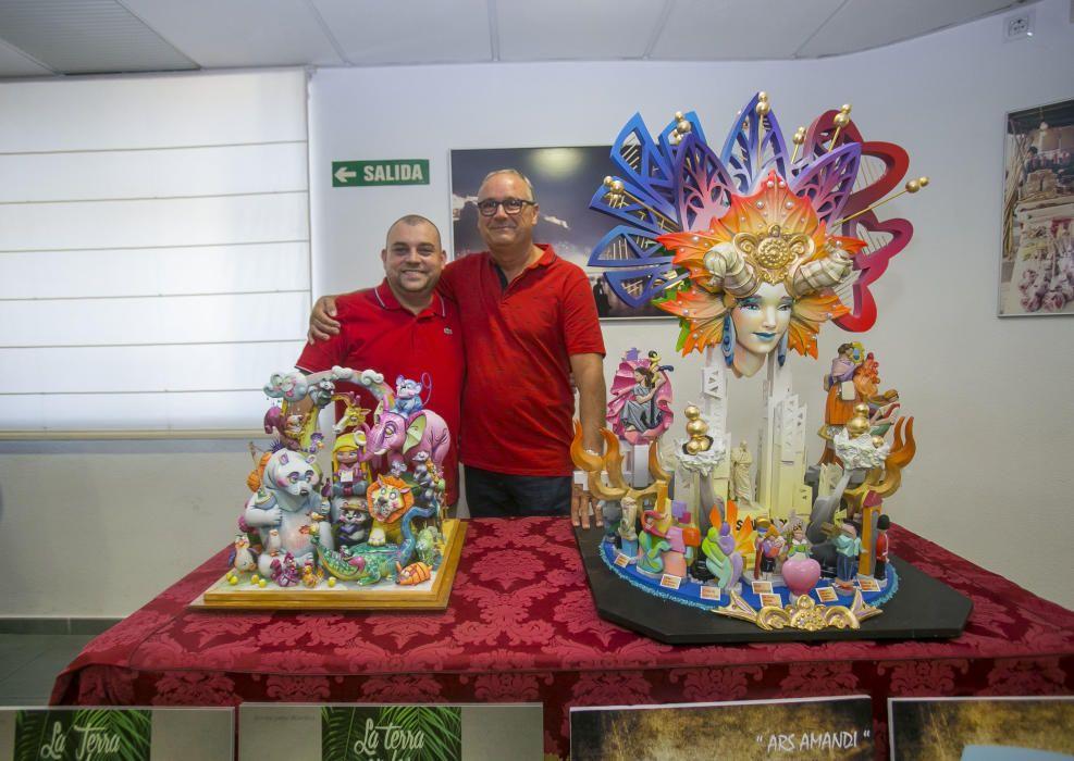 Pedro Espadero y Sergio Gómez